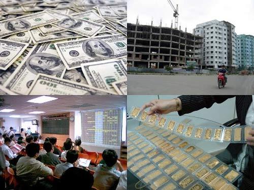 Vàng, chứng khoán, BĐS: Đầu tư mảng nào? - 1