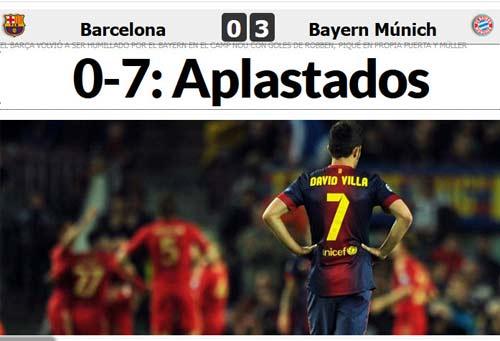 Thế giới ngợi ca Bayern, chê bai Barca - 1