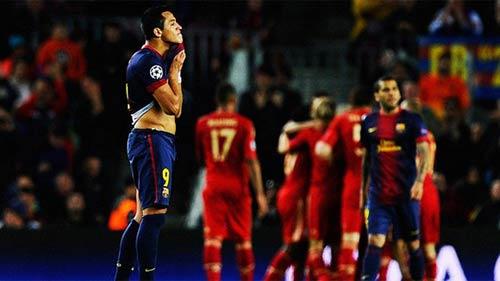 Barca quá yếu đuối ở những trận cầu lớn - 1