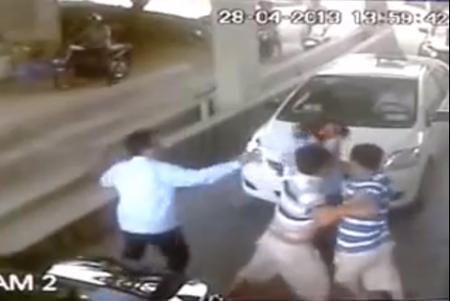 Quảng Ninh: Nữ nhân viên soát vé bị hành hung - 1