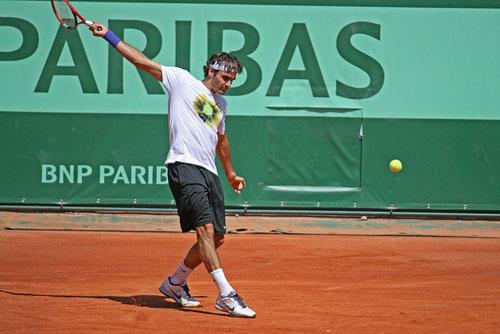 Học tennis qua tivi: Cầm vợt chuẩn (P2) - 1