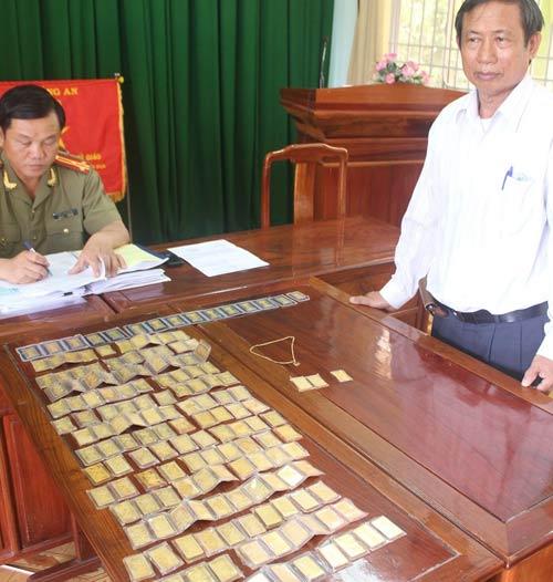 Trộm vàng ở Bình Dương: Nhận lại 157 lượng - 1