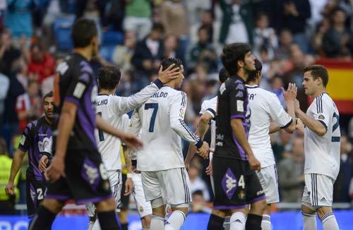 Real - Valladolid: Bữa tiệc bàn thắng - 1