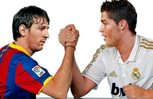 BXH Castrol: Ronaldo vượt mặt Messi - 1
