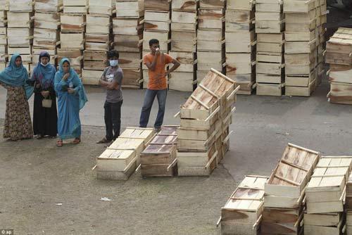 Sập nhà Bangladesh: 1 phụ nữ sống sót kỳ diệu - 1