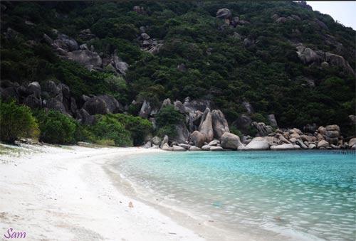 Về đảo Bình Ba hoang sơ tuyệt đẹp - 1