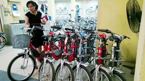 Xe đạp điện: Khó phân biệt thật, nhái - 1