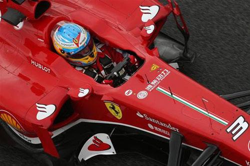 Chạy thử Spanish GP: Vettel chiếm ưu thế - 1