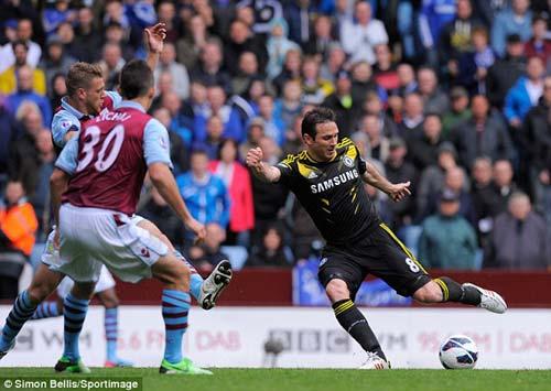 Lập cú đúp, Lampard đi vào lịch sử Chelsea - 1