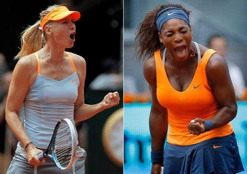 Serena & Sharapova: Ai là số 1? (CK Madrid Open) - 1