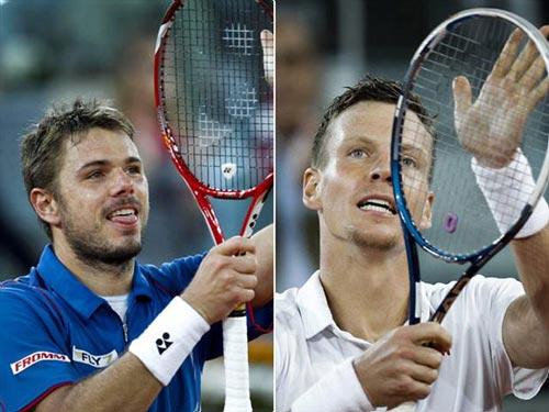 Berdych - Wawrinka: Hồi hộp đến cuối (BK Madrid Open) - 1