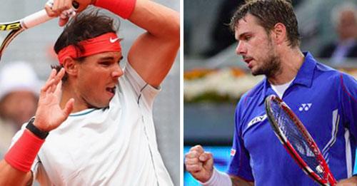 """Nadal đại chiến """"người Thụy Sỹ"""" (CK Madrid Open) - 1"""
