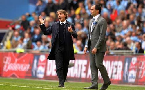 Bại trận, Mancini vẫn tự tin - 1