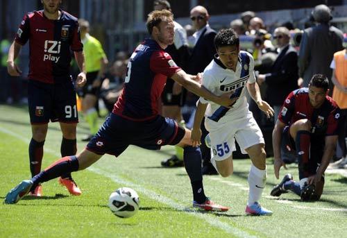 Genoa – Inter: Niềm vui vô bờ - 1