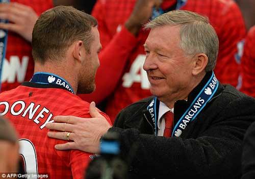 Rooney bị bỏ rơi: Bàn tay sắt của Sir Alex - 1