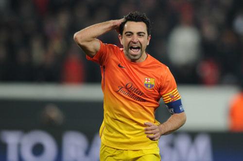 Lên ngôi ở Liga, Xavi đi vào lịch sử - 1