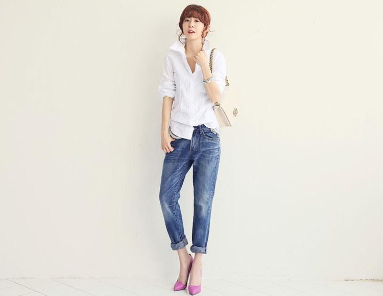 Boyfriend jeans cho cô nàng tinh nghịch! - 1