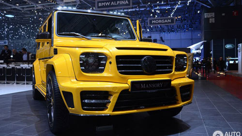"""Mercedes-Benz G63 AMG """"độ"""" giá triệu đô - 1"""