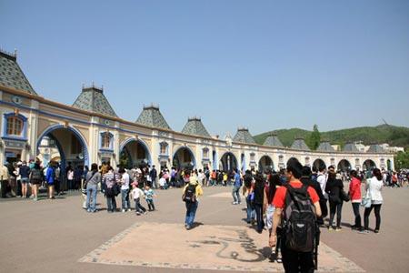 Vòng quanh thế giới tại Công viên Everland – Hàn Quốc - 1