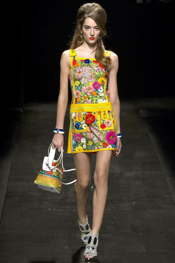 Xu hướng in hoa của thời trang thế giới - 1