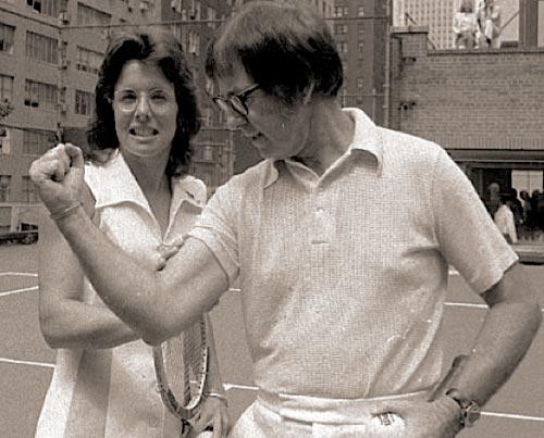 """Tennis: 40 năm """"Trận chiến giới tính"""" - 1"""