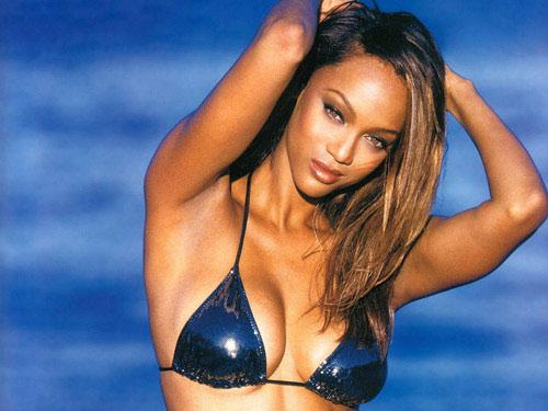 Dáng siêu đẹp như Tyra Banks - 1