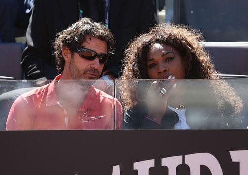 """Bạn trai giúp Serena Williams """"lên đỉnh"""" - 1"""