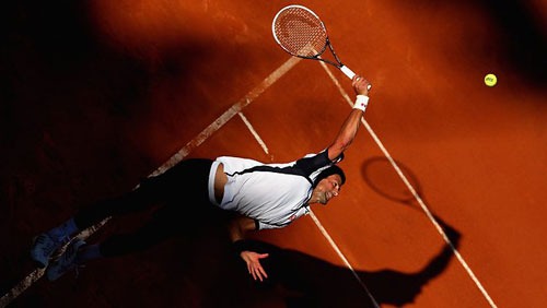 Djokovic - Dolgopolov: Hồi mã thương (V3 Rome Masters) - 1