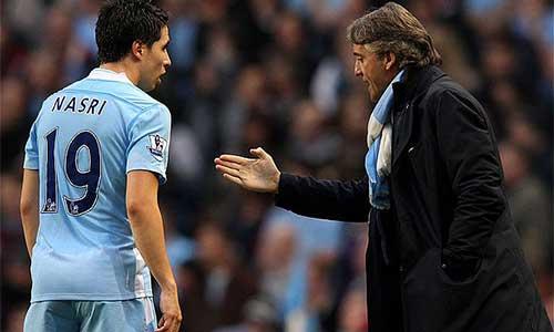 Nasri buồn khi Mancini bị sa thải - 1