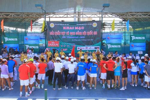 Khai mạc giải Quần vợt VĐ đồng đội QG - 1
