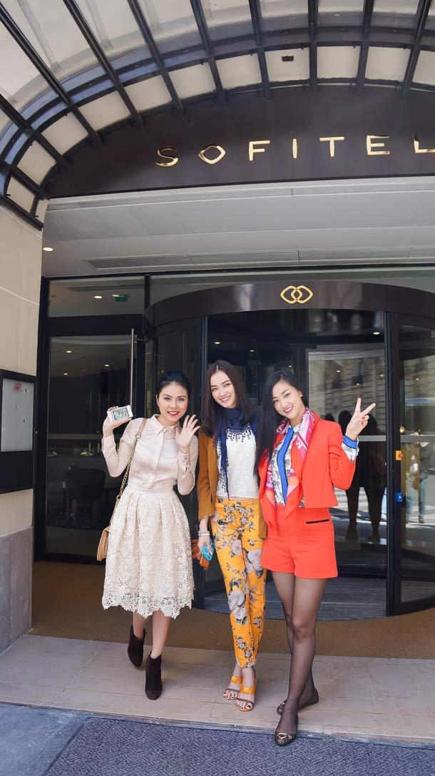 Sao Việt bắt mắt trên đường phố Paris - 1