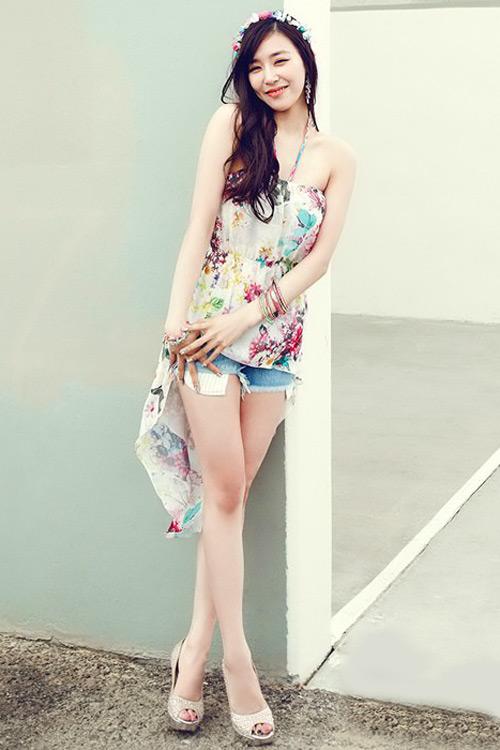 Ngày hè đẹp như ngọc nữ Hàn - 1