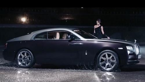 Quảng cáo đẳng cấp của Rolls-Royce Wraith - 1