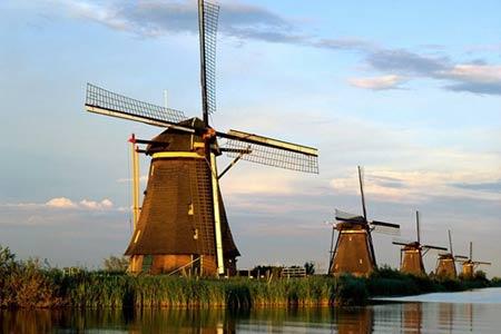 Chiêm ngưỡng thiên đường tình yêu tuyệt đẹp tại Hà Lan - 1