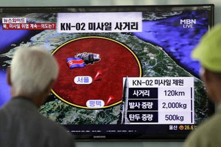 Vì sao Triều Tiên liên tiếp phóng tên lửa? - 1