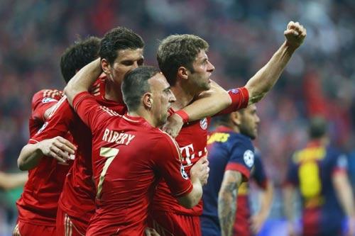 Muốn VĐ, Bayern cần đá như hủy diệt Barca - 1