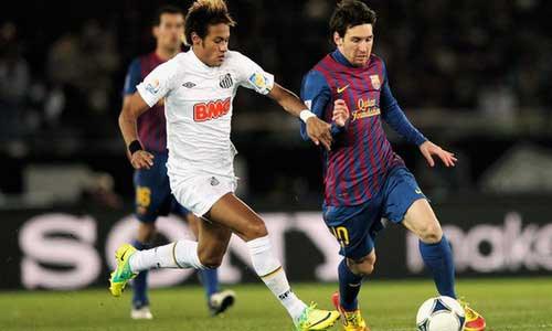 Messi ủng hộ Neymar đến Barca - 1