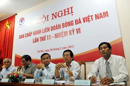Bộ mong ông Hải trúng cử Chủ tịch VFF - 1