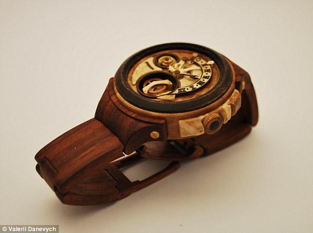 Đồng hồ gỗ tinh xảo đến kinh ngạc - 11