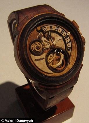 Đồng hồ gỗ tinh xảo đến kinh ngạc - 9