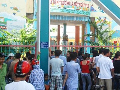 Đà Nẵng: Trắng đêm đăng ký vào trường mầm non - 1