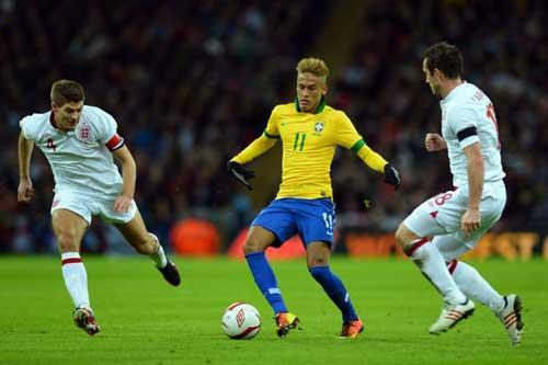 Neymar lên tiếng chê bai tuyển Anh - 1