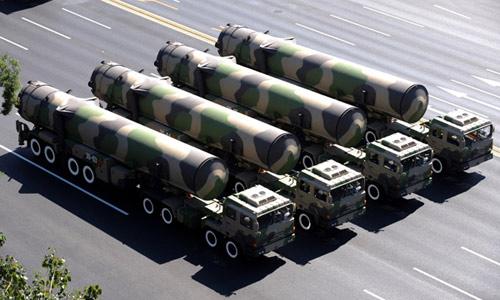 Trung Quốc tăng số lượng đầu đạn hạt nhân - 1