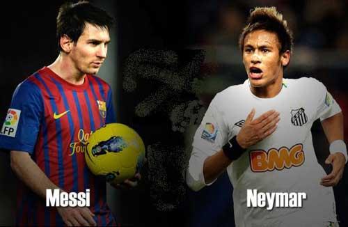 """Luận về """"song kiếm"""" Messi -  Neymar - 1"""