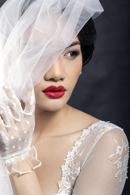 Gợi ý tóc đẹp cho nàng dâu ngày cưới - 1