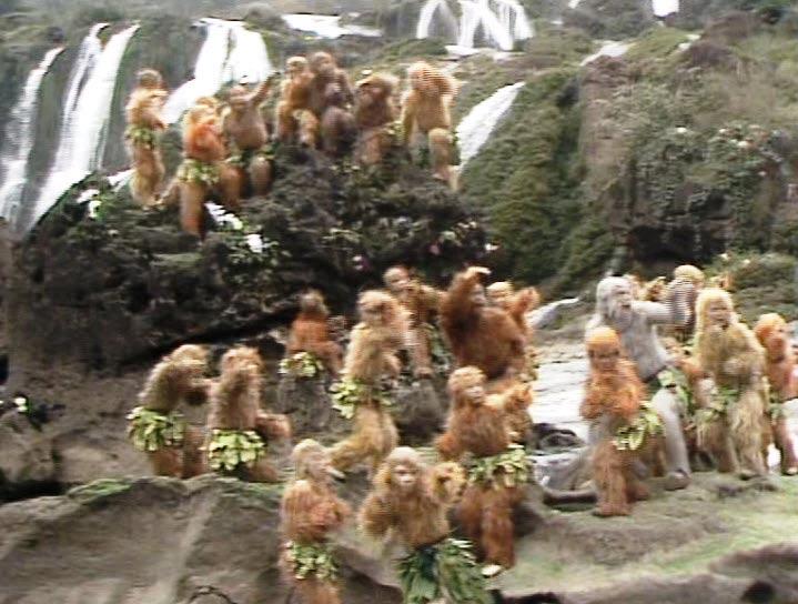 Bất ngờ về khỉ con Tây du ký - 1