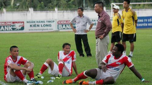 Cầu thủ K.Kiên Giang hoang mang trước lượt về - 1