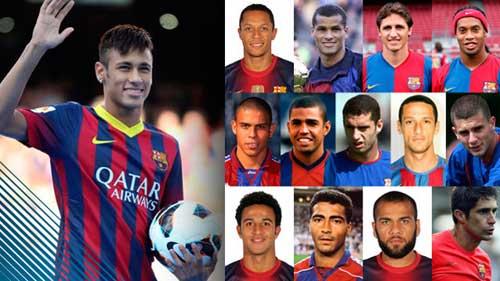 Neymar tới Barca: Đất lành của người Brazil - 1