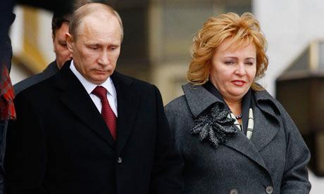 Tổng thống Putin ly dị vợ - 1