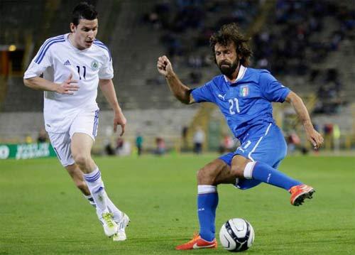 Séc – Italia: Hành trang tới Brazil - 1